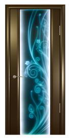 Люмия Люкс. Дверь со светодиодной подсветкой